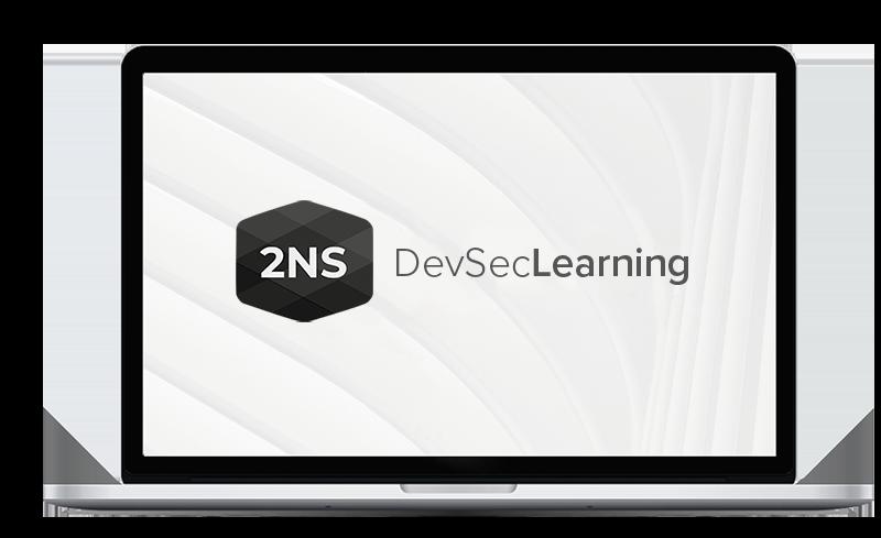 2NS verkkokoulutus ja logo